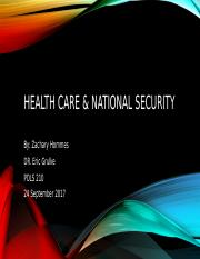 Health care & national security.pptx