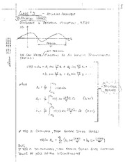 Class #5 - Fourier Analysis