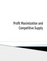 buec 311 profit maximization and competitive supply w17 handout.pptx