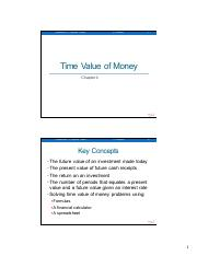 Lecture 2 - TimeValueOfMoney
