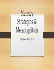 Memory Strategies  Metacognition-post.pptx