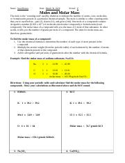 Moles and Molar Mass.docx