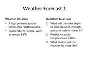 Weather Forecast Stations