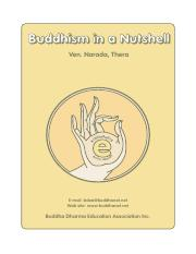 Buddhism in a Nutshell - Ven. Narada, Thera