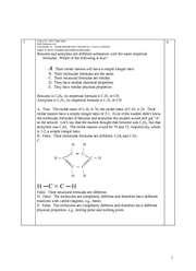#Chem 161-2007 final exam + solutions