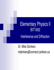 09 - Interference and Diffraction.pdf