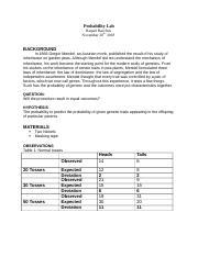 BIO SBI3U : BIOLOGY 11 - VHS - Course Hero