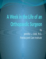 A-Week-in-the-Life-of-an-Orthopaedic