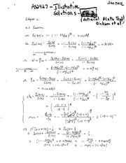 Actuarial 2427 Practice Exam for Chapter 2