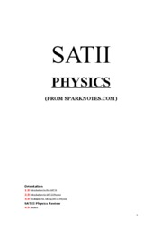 SAT II Physics (SN)