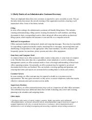 5. Daily Duties of an Administrative Assistant.docx