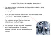 Topic 7a Fracturing Theory