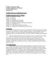 Guidelines for Essay 2 Explaining A Concept