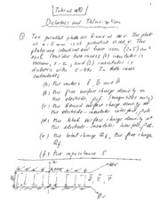 Tutorial 10 - Dielectrics Notes