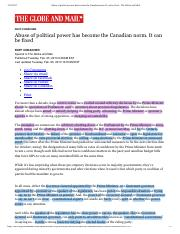 Abuse of political power has become the.... It can be fixed - The Globe and Mail copy.pdf