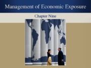 Chapter 9 Management of Economic Exposure