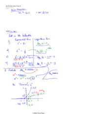 Logarithms and Derivatives