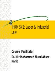 Introduction to Labor Laws.ppt