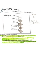 Analysing the STP topologies