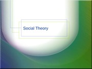 Social_Theory_Lecture_Notes