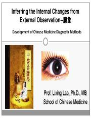 Lecture 4-Speculation of diseases by external observation_V9 Lao 092816