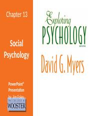 ExpPsych9e_LPPT_13 - Social Psychology new