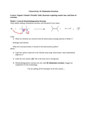 ChemActivity18EliminationReactions