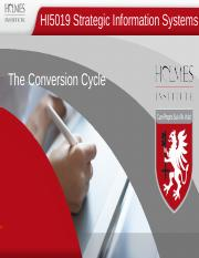Topic 6 The Conversion Cycle.ppt