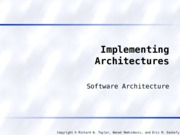 ImplementingArchitectures.ppt