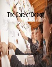 CTD292 The Core of Design - answers