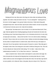 magnanimous love