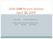 AEM_335_Review_Session