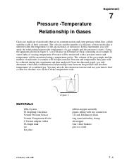Temperature-Pressure CBL.DOC