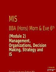 MIS BBA 5th 2014 Lec 789.ppt