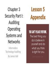 Chap03 Security I Auditing OS & Networks - 5 Appendix.pptx