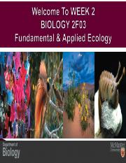 FALL 2015 BIOLOGY 2F03 WEEK 2 CHP 2 & 3 PPT LECTURE.pdf