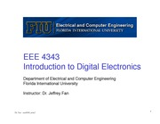lecture 2 on Introduction to Digital Electronics