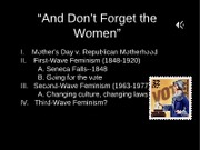Lecture 7--women's rights