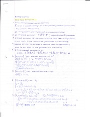 Econ 15b Test 1 Need to Know Answers