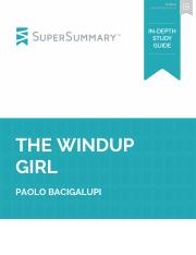 The Windup Girl - SuperSummary Study Guide.pdf