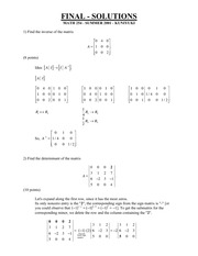 Math254OldFinalSols