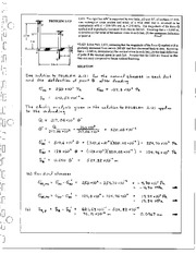 156_Mechanics Homework Mechanics of Materials Solution