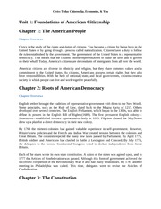 (CVC) Civics Today Citizenship, Economics, & You