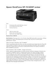 IT assign. best printer I choice