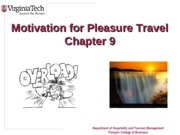 Chapter+9+Motivations+for+Pleasure+Travel