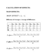 Factorial Experiment Review