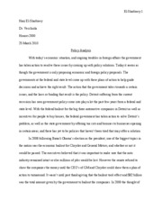 honors paper 2