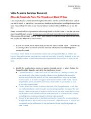 Africa to America to Paris The Migration of Black Writers Video Questions.docx