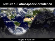 ESS 5 Earth Atmosphere lecture 10