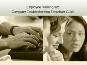 employee training and computer troubleshooting flowchart guide victoria howell